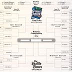 My NCAA Tournament Bracket (If You Care)